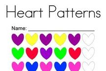 Valentine's Day / Valentine's Day coloring pages, worksheets, and mini books.