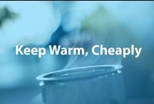 Keep Warm, Cheaply / As the temperatures still hover over the freezing mark in many parts of the country, we showcase ways and products to help your family stay warm, cheaply. / by Cheapism.com