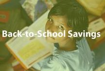 Back-to-School Savings / From kindergarten to university school can be expensive! Learn how to save money with back-to-school deals and shopping tips. / by Cheapism.com