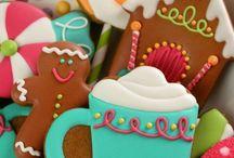 Sugar Cookies / Beautiful and fun cookies with royal icing / by Liz Hofacker (Vallis)