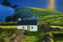 IRELAND / The Emerald Isle, glittering like a jewel in the sun. / by Heather Downunder