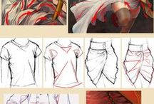 Drawing: Clothing and Tissue