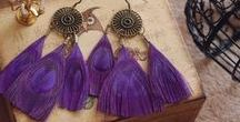 Bohemian / Indian Styles - Earrings n Necklaces / departmentgoldenpineapple@gmail.com