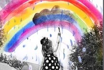Rainbow Colors / by Sandy Corrigan