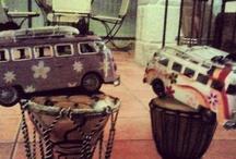 Mis furgos hippies