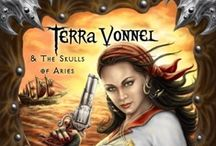 Terra Vonnel and the Skulls of Aries / Amazon Best Seller Top 100: Terra Vonnel and the Skulls of Aries; a thrilling high-seas adventure seen through the eyes of seventeen year old pirate Terra Vonnel, better known as the Sea Vixen.