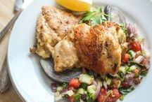 I Feel Like Chicken Tonight... / Chicken Recipes and Chicken Menu Ideas / by Cast Iron & Wine
