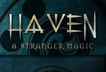 HAVEN Book Series by D.C. Akers / Amazon Best Seller Top 100: HAVEN : Decades of peace between the Witches, Vampires, Goblins, Elves, and Orcs is coming to an end. Now the once tranquil world is shrouded in deception and corruption. Dark secrets tear at the very fabric of their alliance giving way to an evil that stirs in the shadows. Exhilarating and utterly gripping, the HAVEN series is an action-packed journey full of suspense, magic, mystery, and intrigue.