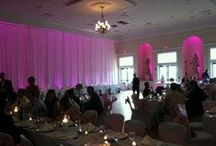 Wedding Reception July 6, 2013 / 200+ guest wedding reception in The Regent's ballroom.