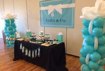 Tiffany & Co. First Birthday Party  / Tiffany & Co. themed first birthday party in The Regent's ballroom