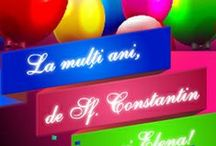Felicitari de Sf. Constantin si Elena / Felicitari animate pentru ziua onomastica, felicitari de Constantin si Elena.