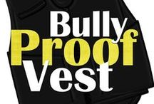 say NO to bullying / its an anti-bullying board.....which is strongly against bullying................