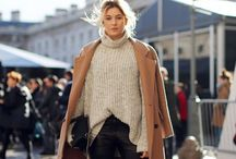 Winter fashion / It's time to get snug and cozy with large coats and oversized jumpers to keep you warm