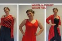 Clothing for Spring / Deze kleding kan op maat gemaakt worden.