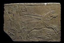 Ассирийский рельеф (Assyrian reliefs)