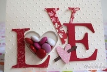 ♥ hearts & Valentines ~ paper crafts & cards / by Debbie Brown