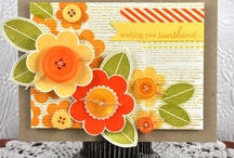 ♥ flowers ✿ , leaves, plants & trees ~ paper crafts & cards ✿⊱╮ / by Debbie Brown