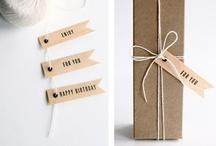 Etiquette et Emballage et note book