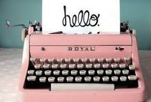 """Telephones, Turntables & Typewriters - Hello! ☎ / ☎  """"Hey I just met you and this is crazy, but here's my number, so call me maybe . . .     You're just my type!  ☎ - still luv 'em / by Debbie Brown"""