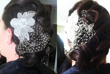 Updo's Wedding Hair / Tight curls, wavy hair, updo's, to the side, volume, and teased hairstyles  all hairstyles done by www.candice-style.com