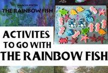 Rainbow Fish / Rainbow Fish crafts and activities