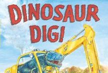 Dinosaur picture books / Picture books with dinosaur characters