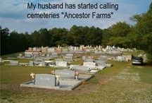 Grave Matters / Humor and Uniqueness in the Cemetery / by Midwest Genealogy Center