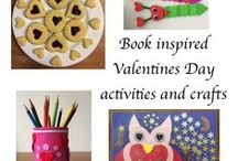 Valentine's Day Crafts and Books / Picture books and crafts for kids to make for Valentine's Day