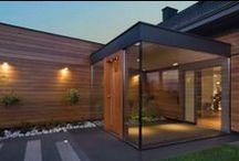 Dom jednorodzinny    Zielonki - Poland / okna, drzwi, elewacje, szkło   www.alpinadesign.pl