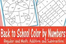 Number and Maths activities / Activities and books to extend mathematical knowledge and understanding
