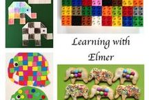 Activities using Elmer / Learning ideas and activities featuring Elmer by David McKee