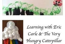 Activities using Eric Carle's picture books / Learning ideas, activities, crafts and resources to accompany Eric Carle's picture books
