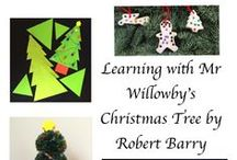 Activities using Mr Willowby's Christmas Tree / Arts, crafts and learning ideas that can be linked to Mr Willowby's Christmas Tree.