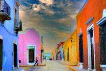 Mexico / Mexico, ville sud américaine du Mexique