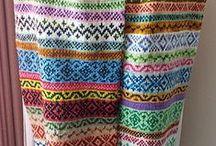 Fair Isle Knitting / Musterstricken ähnlich den Norwegermustern