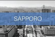 Travel // Japan // Sapporo / Sapporo is the capital city of Hokkaido in the northern part of Japan. It is a relatively new city, which rose to recognition as the host of the 1972 Olympic Winter Games. It is famous for its ramen, beer and winter snow festival.