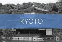 Travel // Japan // Kyoto / Kyoto was once the capital of Japan. The city is known for its temples, shrines and kaiseki dining.