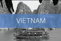 Travel // Vietnam / Vietnam is a country in Southeast Asia with stunning beaches and jungles. In the north, Hanoi is the bustling capital city, In the south, Ho Chi Minh City also known as Saigon, holds historical significance from the Vietnam War and its time under French occupation.
