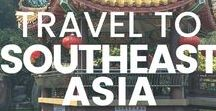 Travel to Southeast Asia / All the best tips, tricks and itineraries for visiting Southeast Asia! Vietnam, Cambodia, Laos, Myanmar, Thailand, Malaysia, Singapore, Indonesia, Philippines, Brunei, Timor-Leste #SouthEastAsia #TravelSoutheastAsia