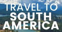 Travel to South America / Find inspiration for you trip to South America with these itineraries, travel hacks, tips and tricks, budgets and more. Travel through Argentina, Peru, Ecuador, Bolivia, Venezuela, Colombia, Uruguay, Chile, Paraguay, Suriname, Brazil Guyana and French Guiana. There's so much more to South America than Machu Picchu and Rio de Janeiro!