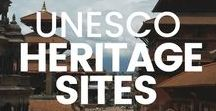 UNESCO World Heritage Sites / A collection of articles, photos and tips on visiting UNESCO Heritage Sites around the world. Including the more well-known like Machu Picchu, and the lesser known UNESCO.
