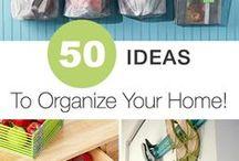 Organization & Storage / This board features organization and storage ideas, DIY and supplies.