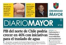 "Noticias Diario Mayor / ""Diario Mayor"" Diario de la Universidad Mayor, revisa la edición en papel digital http://diariomayor.umayor.cl/home"