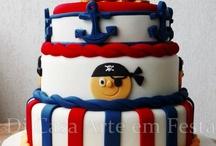 PIRATE CAKE DESIGN - Bolo Decorado Pirata