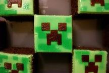 Minecraft Birthday Party / This board features Minecraft theme birthday party ideas, decor, recipes and supplies.