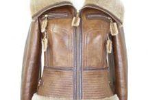 Cuir et peaux lainées / Découvrez tous nos blousons et gilets en cuir et peaux lainees