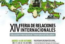 Relaciones Internacionales UMayor / Intercambio estudiantil y cursos de idioma / by Universidad Mayor