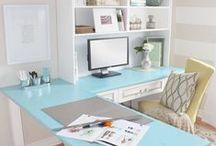 Home Office Ideas / This board features home office ideas, decor, supplies and furniture.