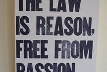Law Quotes / Abogado Aly specializes in all sorts of law. Here are a couple of good law quotes to get you thinking.
