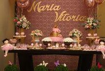 BALLERINA PRINCESS PARTY - Festa Princesa Bailarina / #Festa Princesa Bailarina #ballerinaparty #ballerina #princessparty